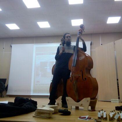 Ponencia en el Conservatorio de Granada 2018